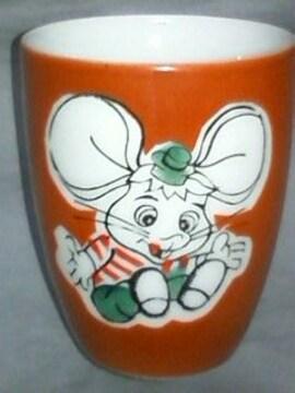 ☆当時物☆トッポジージョ☆小さな陶器のカップ☆版権シールナシ☆