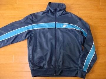 ヴィンテージ 80年代 ナイキ ジャージ 紺タグ USA−M
