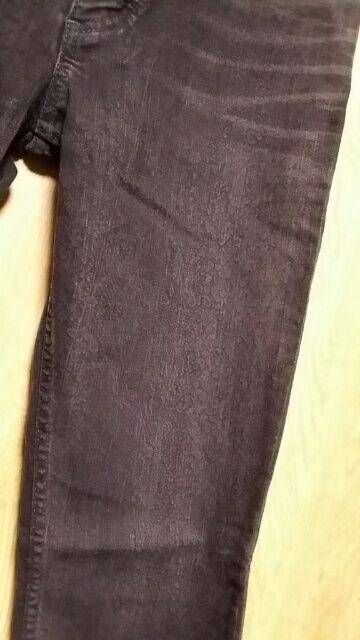 LGBルグランブルー パイソン柄ストレッチパンツ31 S-WOLF < ブランドの