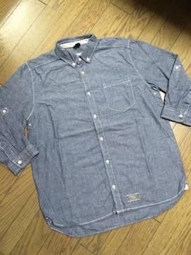 美品CIAO PANIC シャンブレーシャツ チャオパニック