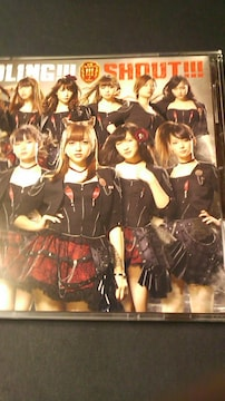 アイドリング!!!限定CD+DVD〜シャウト〜トレカ付き