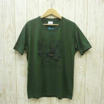 即決☆コロンビア特価CAMP半袖TシャツKHG/Mサイズ (L ) リラックスフィット