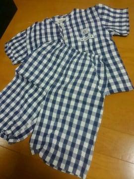 ☆新品同様☆半袖半ズボンパジャマ☆110