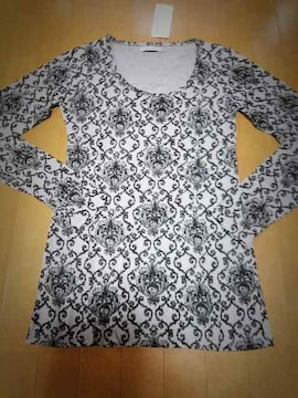 ◆オリエンタル柄◆ロングTシャツ◆