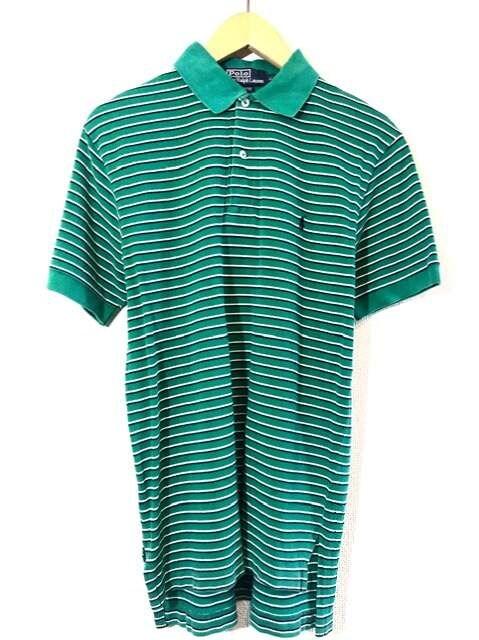 Ralph Lauren■ポロシャツ■ボーダー■ラルフローレン■緑  < ブランドの