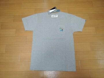 新品CHALLENGERチャレンジャー×DisneyミッキーTシャツS灰