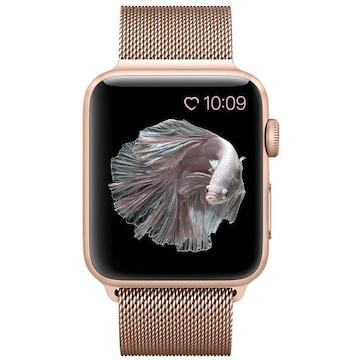 apple watch バンド,ミラネーゼループ series3ゴールド