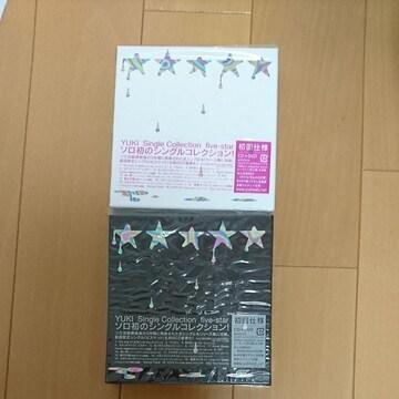YUKI.Signal Collection five-star.新品仕様.2枚セットです。