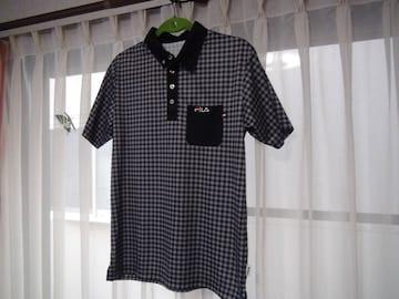 FILAのポロシャツ(M)!。