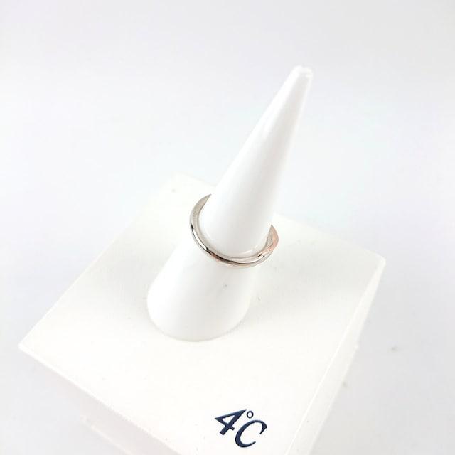 4℃ ヨンドシー k10コンビリング < ブランドの