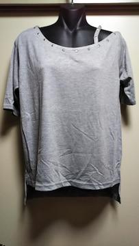 ☆夢展望メタル付きワンショルTシャツ☆新品タグ付き