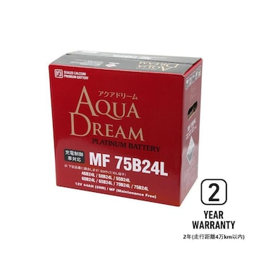 MF75B24L AQUA DREAM バッテリー 標準車/充電制御車対応