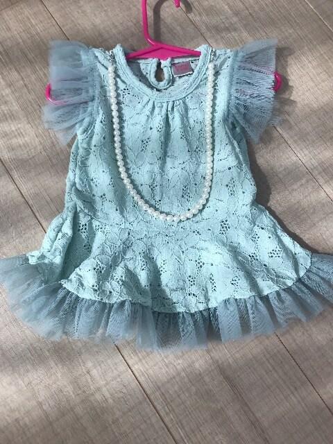 BabyDoll 5女の子ベビ ハーフバースデー初誕生お祝い結婚式など  < キッズ/ベビーの