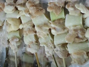 ☆大人気** 炭火焼き鳥(ねぎ間串)30g×50本  冷凍
