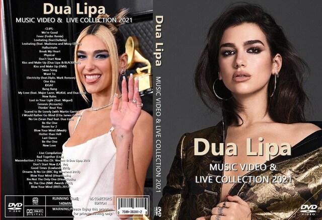 Dua Lipa ・2021! 最新版 プロモPV集 全40曲 ・デュア・リパ  < タレントグッズの