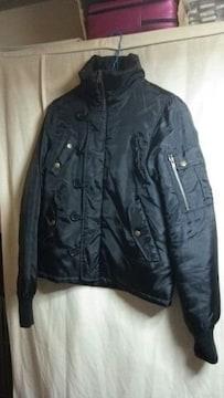 ★NEILLY オシャレデザイン ダウンタイプ ジャンバー ジャケット ブラック サイズM位★