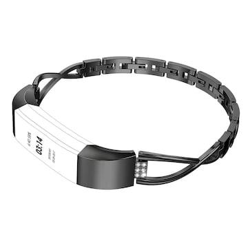 Fitbit Alta バンド ラインストーン 簡単調整 ブラック