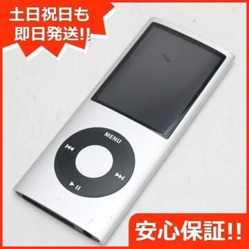 ●安心保証●美品●iPOD nano 第4世代 8GB シルバー●