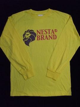 セール送込NESTA BRANDネスタブランド★ロングTシャツイエローS