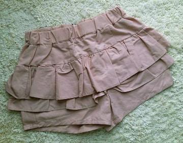 Heather◆フリルティアードショートパンツ◆フリーサイズ◆ピンク◆新品◆