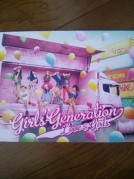 少女時代  LOVE&GIRLS   CD+DVD  初回限定盤