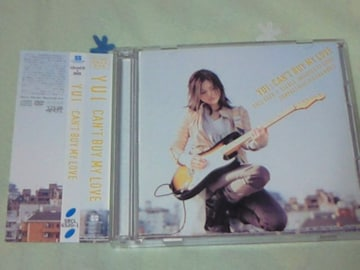 CD+DVD YUI アルバム CAN'T BUY MY LOVE 初回生産限定盤