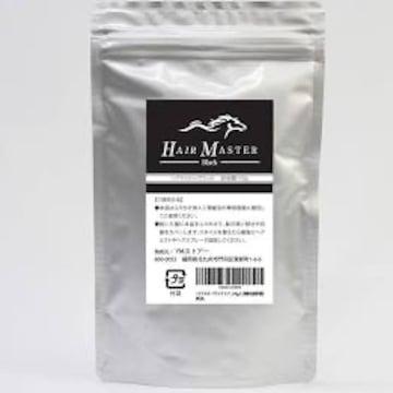 ヘアマスター ブラック (ヘアパウダー 大容量105g 人工微髪毛 詰