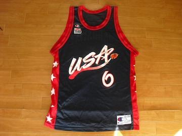 USA製 チャンピオン NBA ドリームチーム タンクトップ L