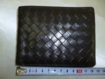 本物ボッテガヴェネタ■2つ折財布■美品■茶