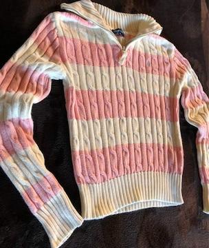 正規店購入ラルフローレン ニットセーター 140女の子可愛い