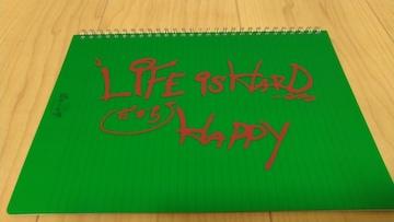 嵐★ピカンチハーフグッズ・ハルが渡したあのノート・緑・相葉