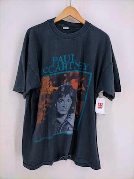 USED古着(ユーズドフルギ)~90S プリント半袖TシャツクルーネックTシャツ