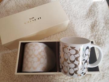 COACH ペアマグカップ(ミディアム)