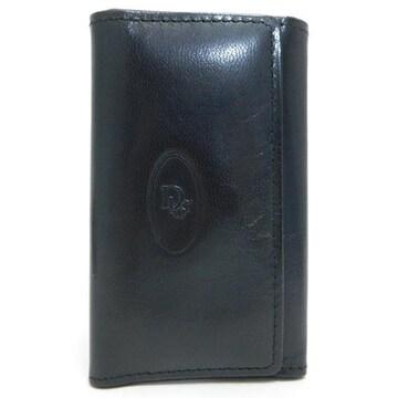 Diorディオール 6連キーケース  濃茶 ヴィンテージ 正規品