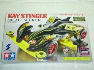 ミニ四駆 RAY STINGER NIGHT SEEKER レイスティンガー ナイトシーカー ホワイト