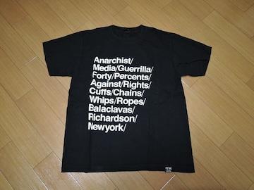 FPARメッセージTシャツ1黒WTAPSダブルタップス