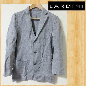 LARDINI ラルディーニ コットン&リネン ジャケット 42 麻 イタリア製