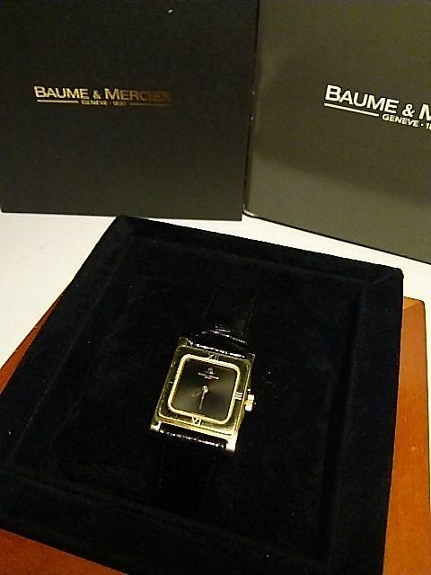 BAUME  &  MERCIER   k18 < 女性アクセサリー/時計の