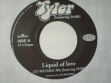 タイラー feat.DABO(NITRO)「Liquid of love」非売品プロモ・アナログ盤