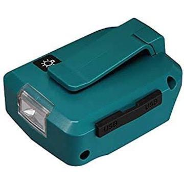 最新版 ADP05 マキタ アダプタ USB LED ライト付き マキタ14.4V