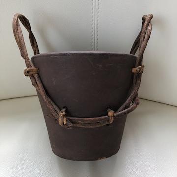 ☆エスニック系鉢 デザイン鉢カバー フィリピン製 輸入雑貨☆