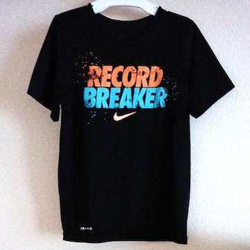 NIKE dry-fit 140ナイキ黒Tシャツ