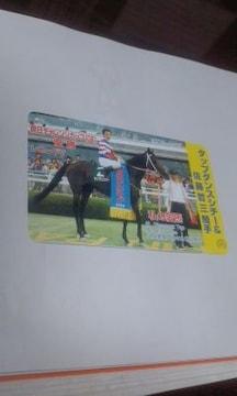 ◆JRA/タップダンスシチー50度テレカ