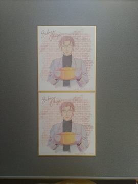 名探偵コナン 沖矢昴 Ani-Artミニ色紙 2枚セット