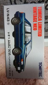 1/64 トミカ リミテッドヴィンテージネオ いすゞ ジェミニ ZZ ハンドリングロータス 新品