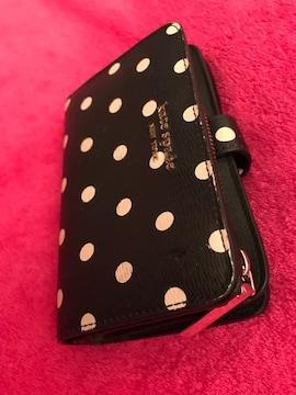 ケイトスペード 2つ折り財布 仕切り2個づつ有使い勝手良いお財布