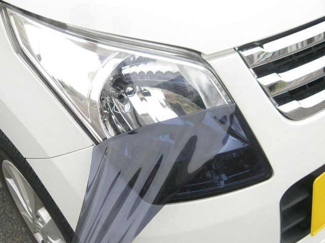 Tint+再利用できる アウディTT 8J ヘッドライト スモークフィルム < 自動車/バイク