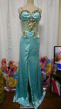 Luxe Style 高級 ビジューキャミ セパレート ロング ナイトドレス