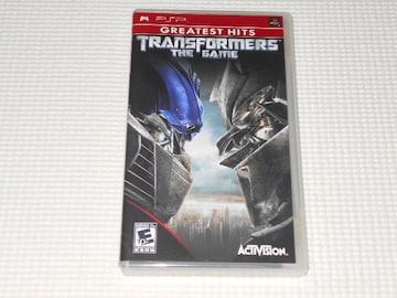 PSP★TRANSFORMERS THE GAME 海外版(国内本体動作可能)