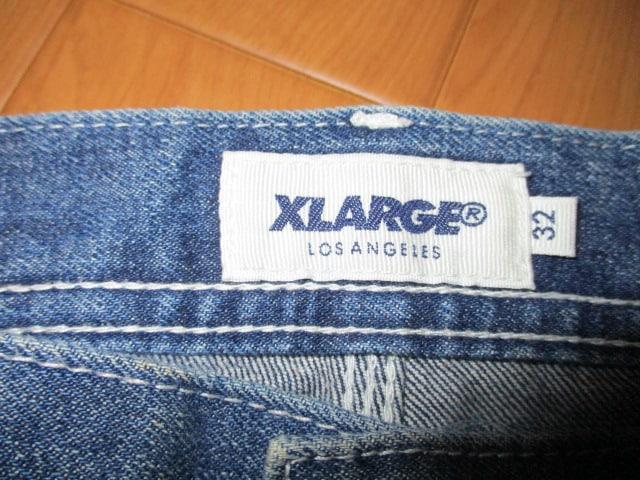 XLARGE エクストララージ デニム ペインターパンツ W32 < ブランドの